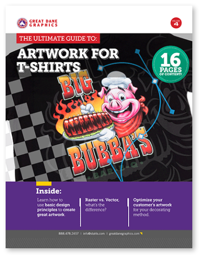 Artwork for T-Shirts eBook