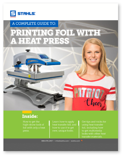 Guide to Printing Foil with Heat Press eBook