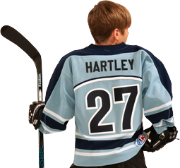 How to Decorate Hockey Jerseys - Back
