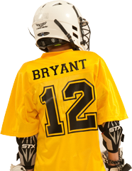 How to Decorate Lacrosse Uniforms - Back
