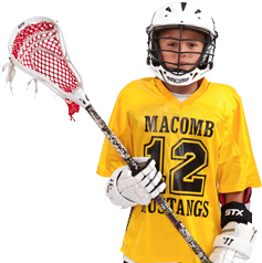 How to Decorate Lacrosse Uniforms -  Front