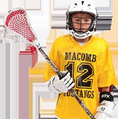 Cómo decorar uniformes de lacrosse: frente