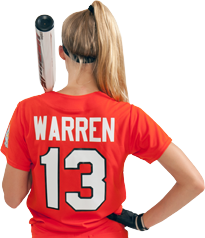 How to Decorate Softball Jerseys - Back
