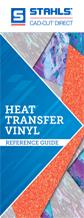 Guía de referencia de vinilos para transfers de calor