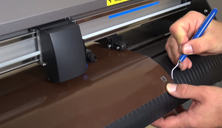 Graphtec CE6000: Performing Test Cut