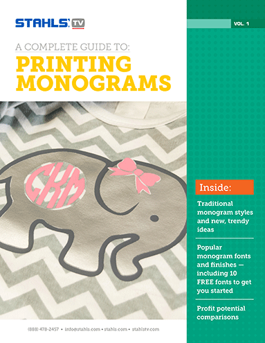 Download Our Free E-Book: The Complete Guide to Printing Monograms