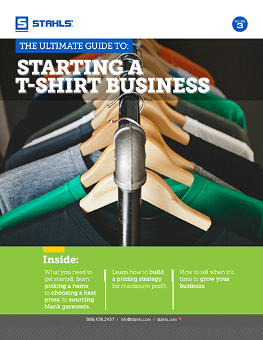 Download Our Free E-Book: The Ultimate Guide to Starting a T-Shirt Business