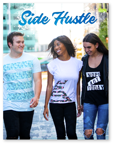 How to Start a T-Shirt Side Hustle