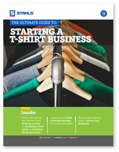 How to Start a T-Shirt Business eBook
