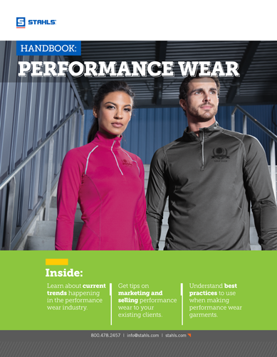 Download Our Free E-Book: The Performance Wear Handbook