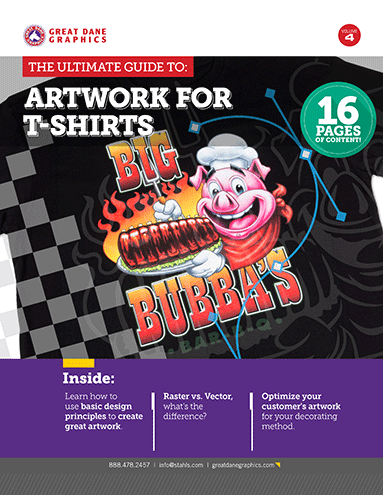 Download Our Free E-Book: The Ultimate Guide to Artwork for T-Shirts