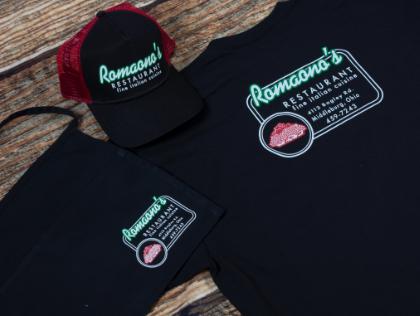 Corporate - create custom food service apparel and gear