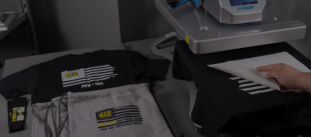 Getting started with a heat press showroom image