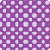 Vibrant Purple Polka Dot