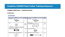 Graphtec CE6000: Instalación y configuración