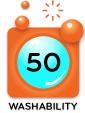 Washability Rating 50