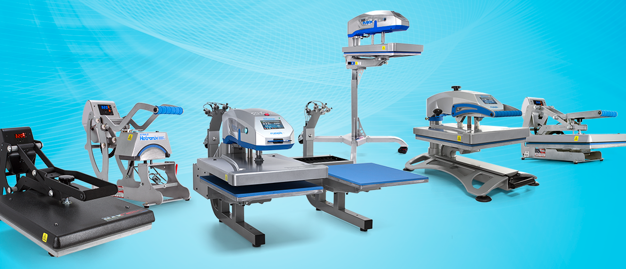 Heat Presses and Vinyl Cutters