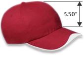 Sombrero de perfil medio